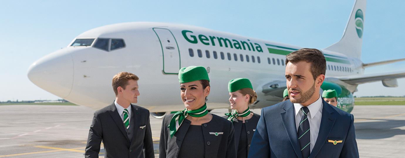Flüge aus Zürich mit der Germania