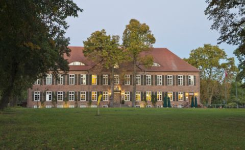 Außenansicht Romantik Hotel Gutshaus Ludorf